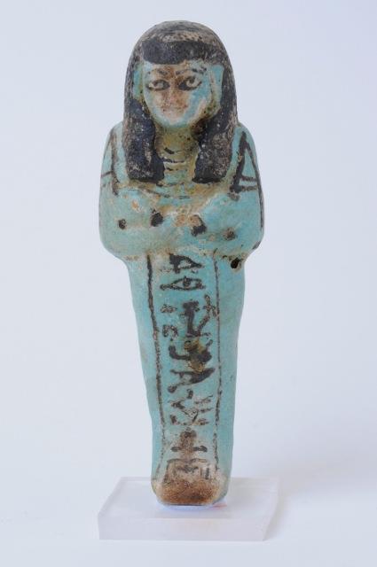 Ushabti in faience (XI-VIII sec. a.C.)