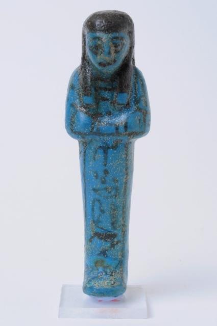 Ushabti in faience (XIII-VIII sec. a.C.)