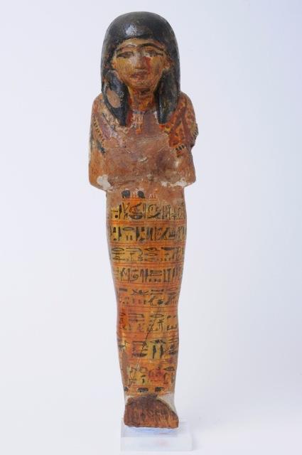 Ushabti in legno dipinto (XIV sec. a.C.)