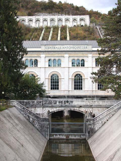 La centrale idroelettrica di Malnisio